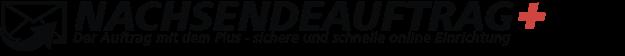Nachsendeauftrag Beantragungsformular von Nachsenden.info Logo